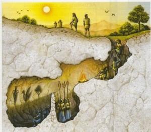 Ο Πλάτωνας και ο μύθος του σπηλαίου