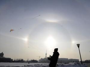 Tρεις Ήλιοι στην Κίνα!