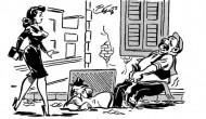 Είναι για γέλια… Παλιές γελοιογραφίες