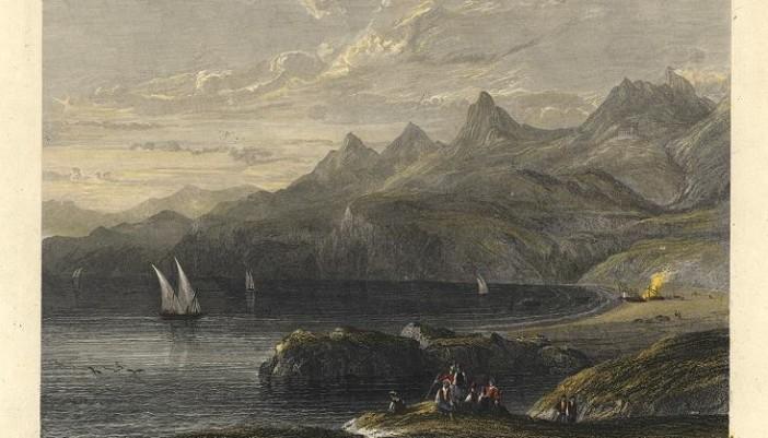 Το Μεγανήσι σε βιβλίο του 1863