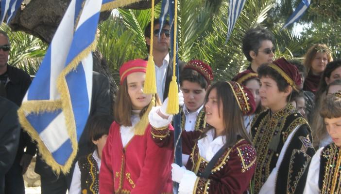 Εορτασμός Εθνικής Επετείου στο Μεγανήσι