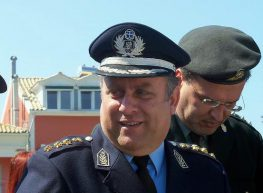 O αστυνομικός διευθυντής Λευκάδας στο Μεγανήσι