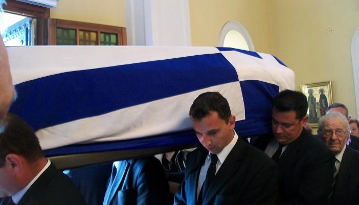 Κηδεύτηκε ο Λευκαδίτης αγωνιστής Απόστολος Σάντας