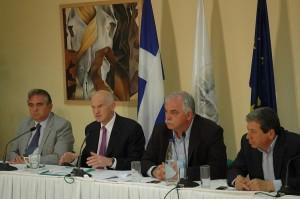 Ομιλία Πρωθυπουργού και επεισόδια στη Λευκάδα