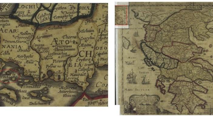 Χάρτες του Μεγανησίου πριν το 1800
