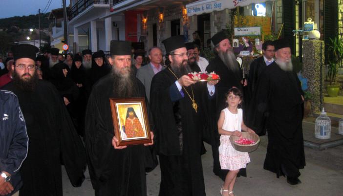 Εορτασμοί και εκδηλώσεις σε Λευκάδα και Μεγανήσι για τον όσιο Γεώργιο Καρσλίδη