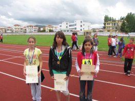 Μετάλλιο στο σχολικό στίβο για το Μεγανήσι