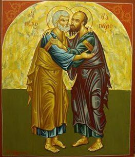 Εορτή Ι.Ν. Αγίων Αποστόλων