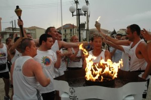 Η φλόγα των Special Olympics στη Λευκάδα