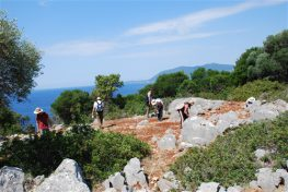 Ενημέρωση για τα πορίσματα και τα αποτελέσματα  της αρχαιολογικής έρευνας στο Μεγανήσι