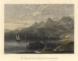 Το Μεγανήσι όπως το περιγράφει ο Ιακ. Ραγκαβής (1854)