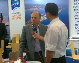Συνέντευξη Δημάρχου Μεγανησίου στο Lefkadapress