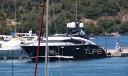 Γ. Αγγελοπούλου: Το πολυτελές σκάφος και οι διακοπές της στο Μεγανήσι !