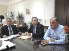 Συνεργασία Περιφερειάρχη με το Γ.Γ. Αποκεντρωμένης Διοίκησης