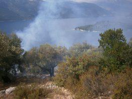 Πυρκαγιά στο Μεγανήσι