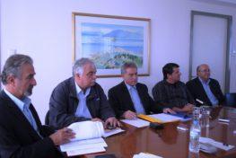 Συνέντευξη τύπου Περιφερειάρχη Ιονίων Νήσων κου Σπύρου και  Δημάρχου Λευκάδας κου Αραβανή