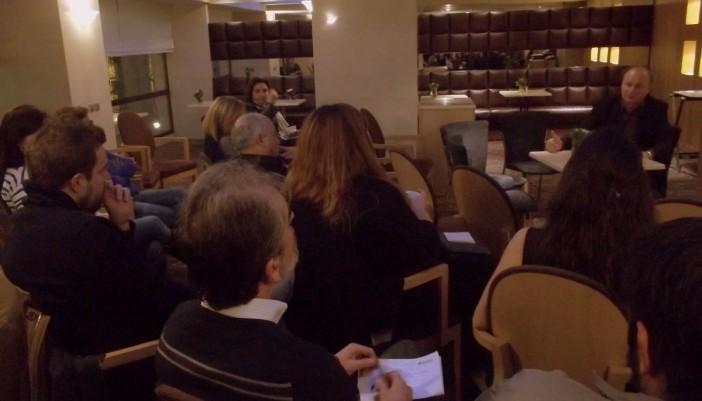 Συνάντηση Δήμου Μεγανησίου με Νέους της Αθήνας
