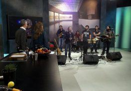 Οι Mr Highway Band με τον Χρήστο Θηβαίο στην εκπομπή 136 της ΝΕΤ