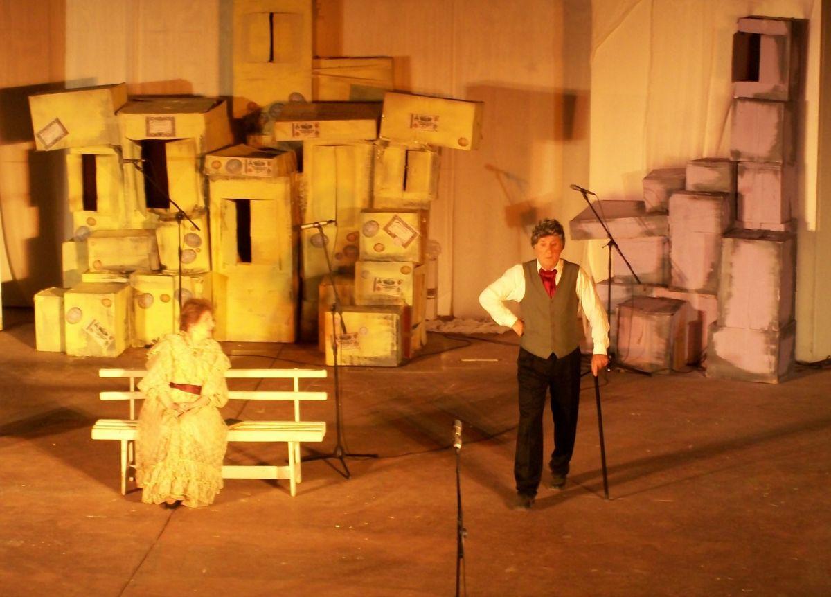 Έδωσε παράσταση ο Βασίλης Κανέλλος στο «Ο Υπάλληλος»