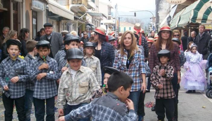 Το Μεγανήσι στο παιδικό καρναβάλι της Λευκάδας