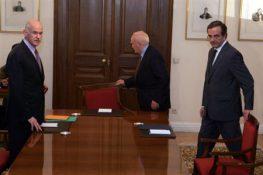 Συμφωνία για τη συγκρότηση νέας κυβέρνησης