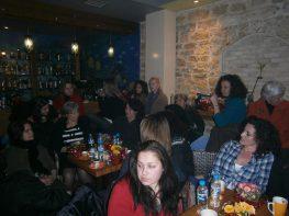 Η συνάντηση των γυναικών για την δημιουργία συλλόγου.
