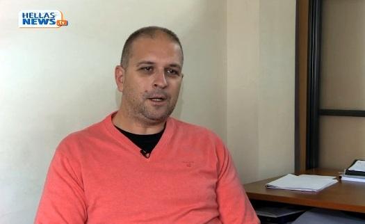 Ο Μεγανησιώτης Αριστείδης Δάγλας στο Hellas Tv