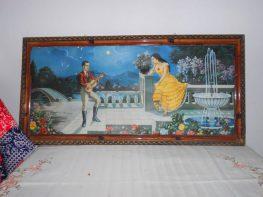 Παλιές ρομαντικές οικιακές παραστάσεις