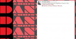 Το Tweet του Χρήστου Δάντη για το Μεγανήσι