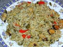 Οι Συνταγές της Μίκας…Πιλάφι με μύδια !