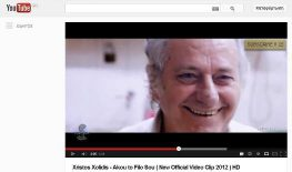 Ο «Θανάσης» σε Video Clip του Χρίστου Χολίδη