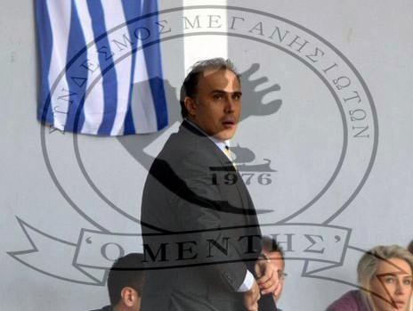 """Συγχαρητήρια Συνδέσμου Μεγανησιωτών """"Ο ΜΕΝΤΗΣ"""" προς Αλέκο Δαγλα"""