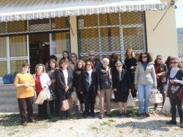 Η επίσκεψη των γυναικών στον Γυναικείο Ηπειρωτικό Συνεταιρισμό.