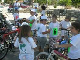 Ποδηλατικοί αγώνες στο Μεγανήσι