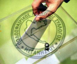 Εκλογές ΠΑΣ Μεγανησίου για ανάδειξη Διοικητικού Συμβουλίου