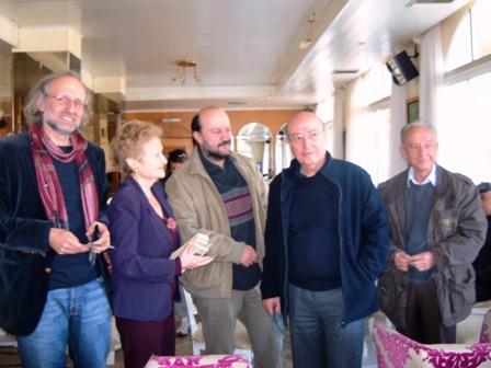 H τελευταία επίσκεψη και συνέντευξη του Θόδωρου Αγγελόπουλου στην Λευκάδα …