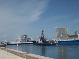 Επέστρεψε η πλωτή γέφυρα της Λευκάδας