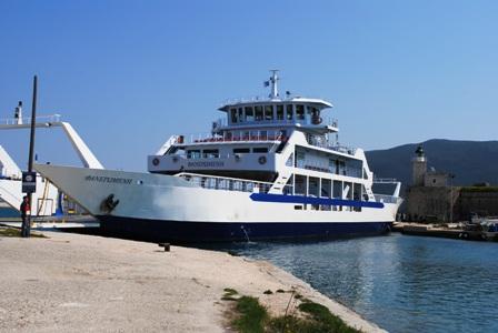 Το Ο/Γ «Φανερωμένη» γέφυρα Λευκάδας για 40 μέρες