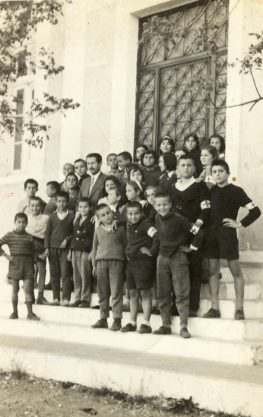 To Παλιό Δημοτικό σχολείο Σπαρτοχωρίου