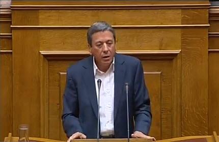Oμιλία βουλευτή Λευκάδας κου Σπύρου Μαργέλη στην ολομέλεια της Βουλής κατά τη συζήτηση του Προϋπολογισμού 2012