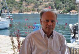 O Δήμαρχος Μεγανησίου κ.Στάθης Ζαβιτσάνος στο LefkadaPress