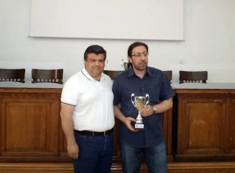 Τρίτος στο Πανελλήνιο Πρωτάθλημα Λύσης Σκακιστικών Προβλημάτων ο Παναγιώτης Κονιδάρης