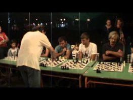 Από την σκακιστική εκδήλωση (Σιμουλτανέ) του Πολιτιστικού Κέντρου