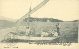 Παλιές καρτ-ποστάλ από το νησί της Λευκάδας