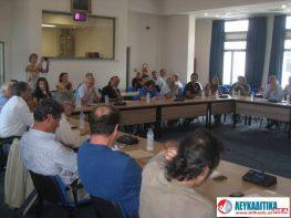 Εκλογή προεδρείου Δημοτικού Συμβουλίου και μελών Επιτροπών στο Δήμο Λευκάδας