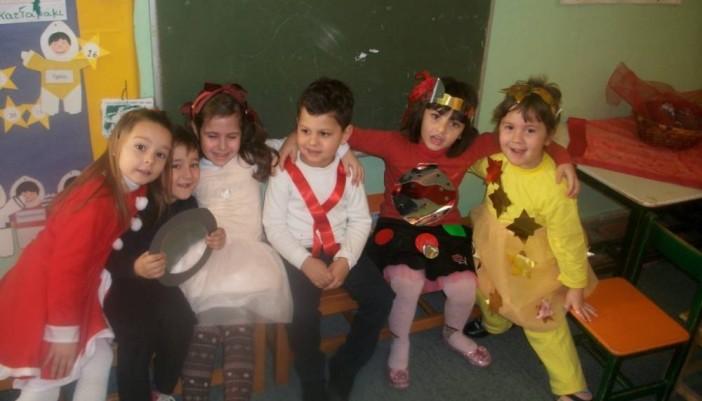 Από την χριστουγεννιάτικη γιορτή του Νηπιαγωγείου