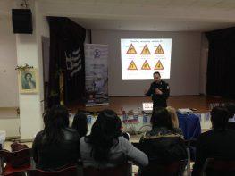 Εκδήλωση σε Γυμνάσιο-Λύκειο για την οδική συμπεριφορά από την Τροχαία