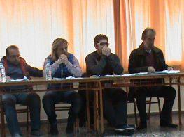 Από το τελευταίο δημοτικό συμβούλιο (28/5/2015)