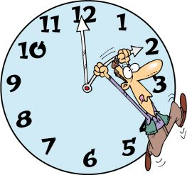 Ο χρόνος θα σταματήσει για ένα δευτερόλεπτο αύριο  βράδυ.
