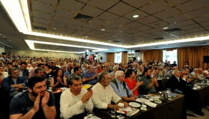 Ο Χρήστος Παπαδόπουλος ανάμεσα στα 109 μέλη της Κ.Ε. του ΣΥΡΙΖΑ που απορρίπτουν το νέο Μνημόνιο